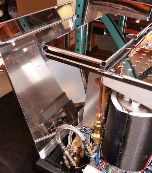 ECM Synchronika espresso machine: Panel Removal