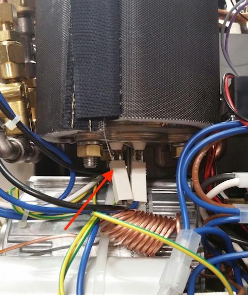 Profitec Pro 700: Coffee Boiler Electrical