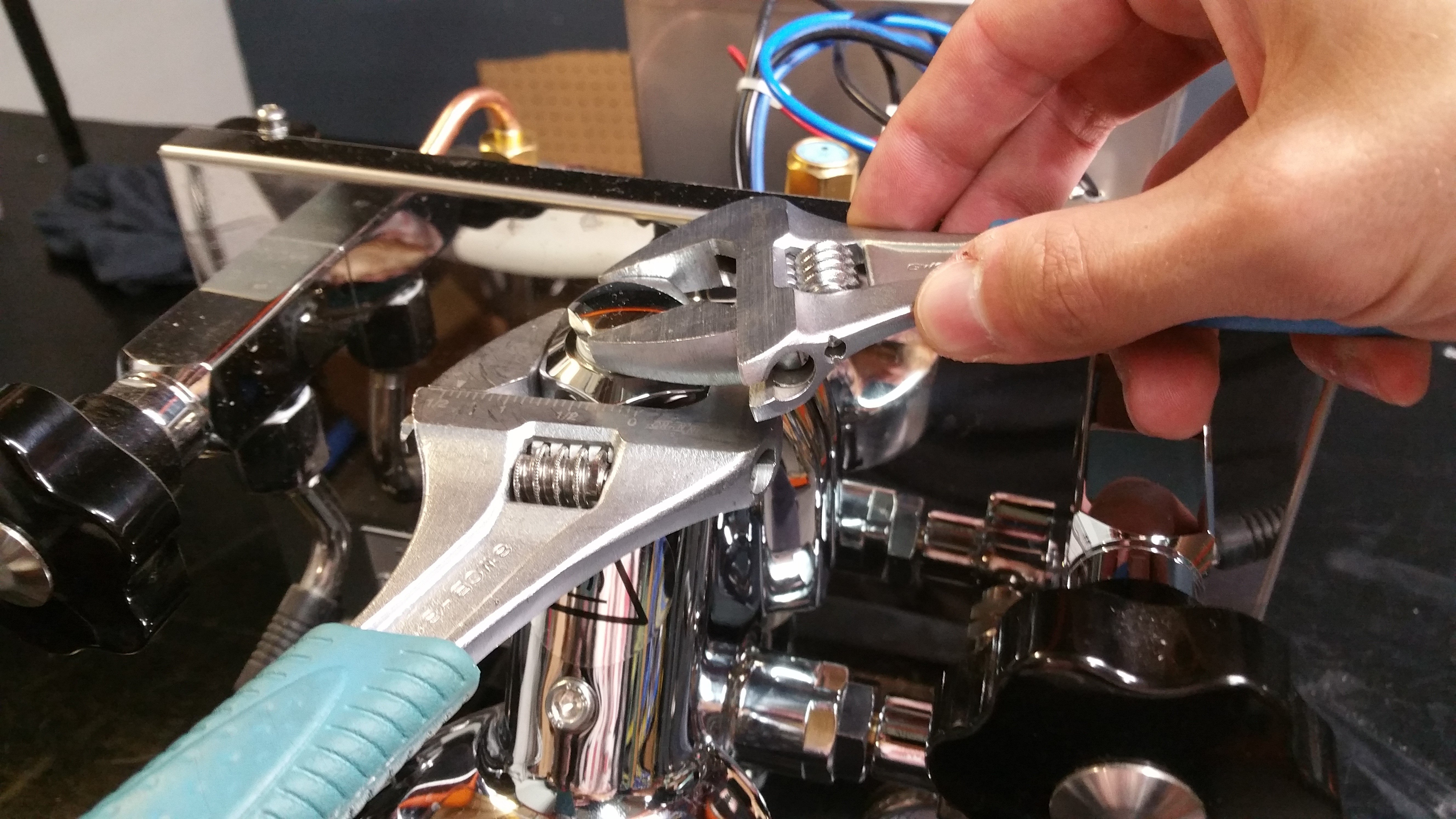 Profitec Pro 500: Water Not Coming Out of Grouphead