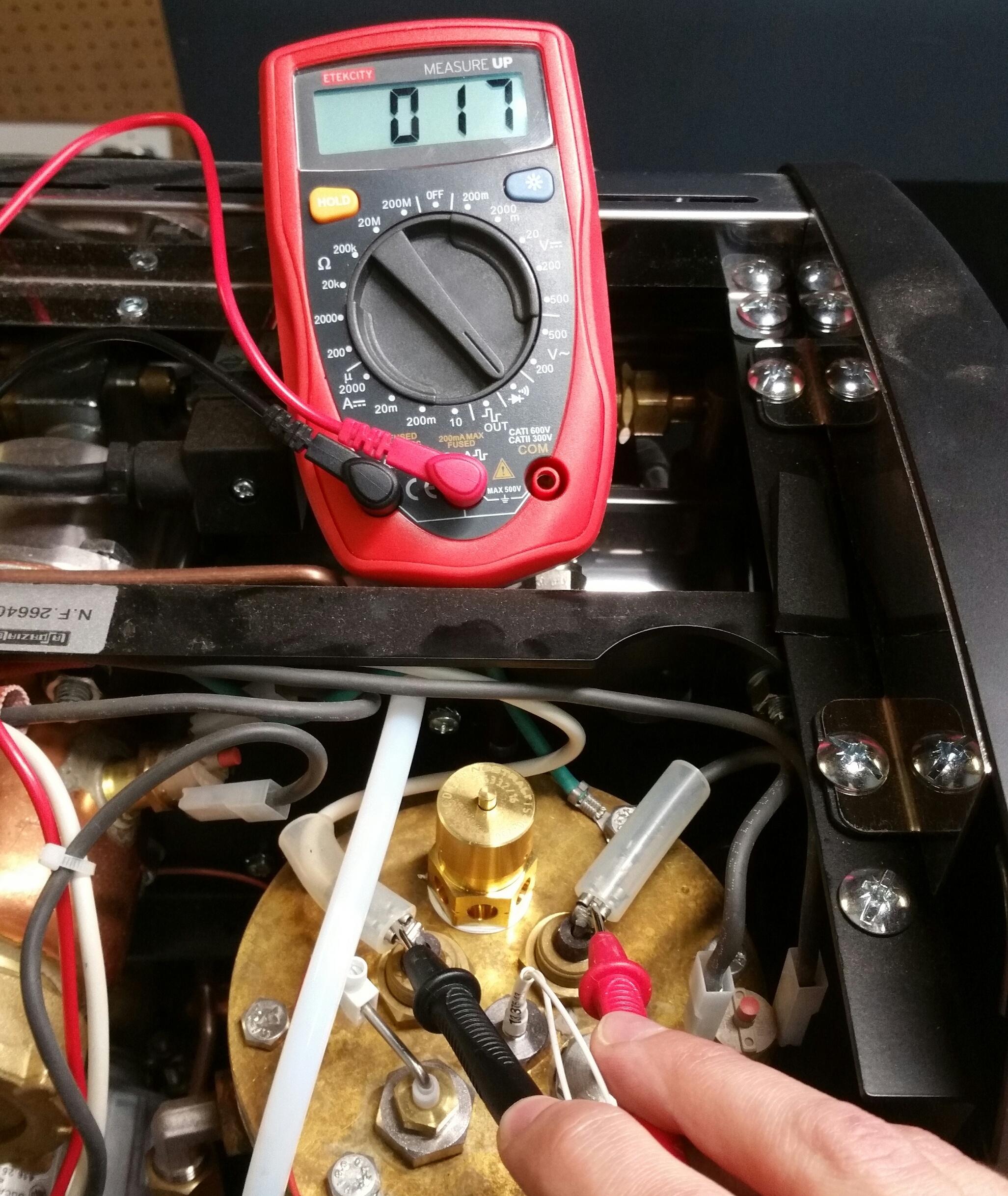 LUCCA A53 Mini: Steam Boiler Not Heating