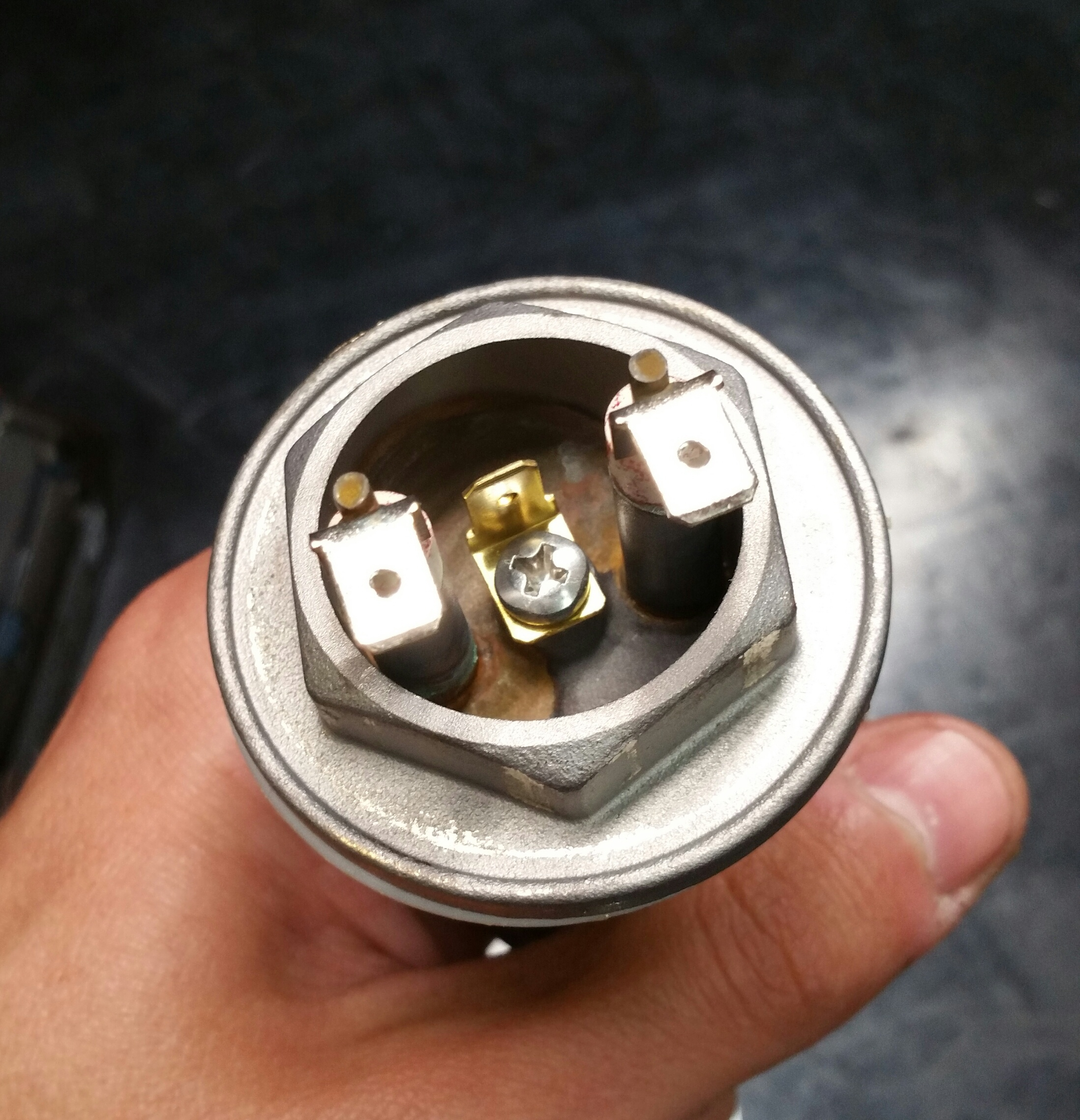LUCCA M58: Replacing Steam Boiler Element