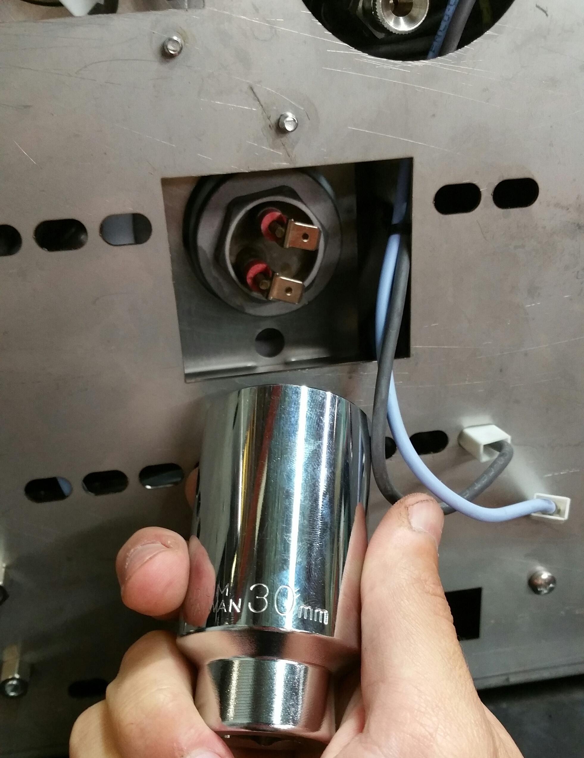 LUCCA M58: Replacing Coffee Boiler Element