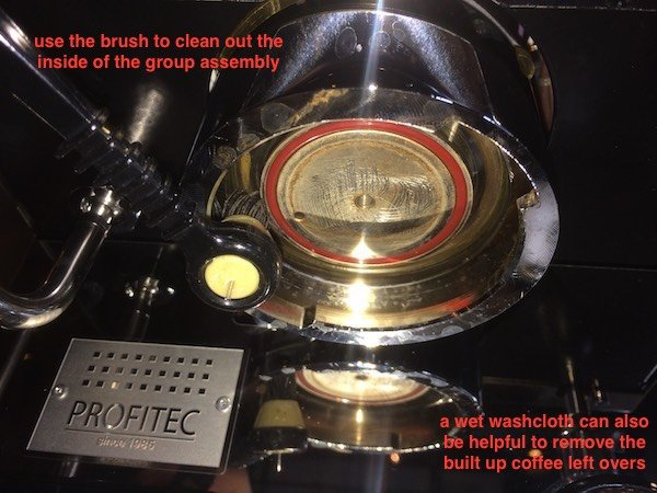 Profitec Pro 300: Cleaning and Replacing the Group Gasket and Screen