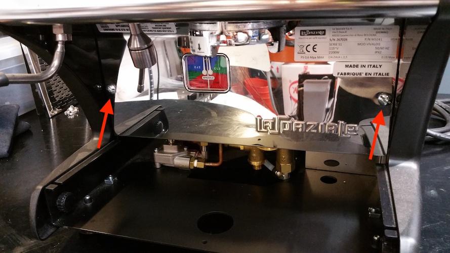 LUCCA A53 / Vivaldi: Replacing Rotary Pump