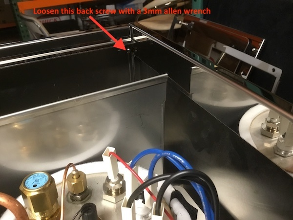 Profitec Pro 700: Removing Brew Switch