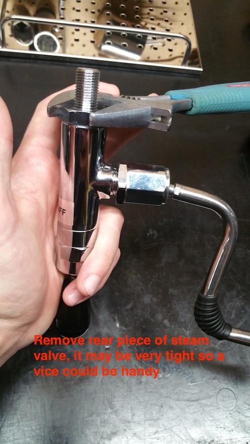 ECM Classika: Steam Wand Gasket Replacement