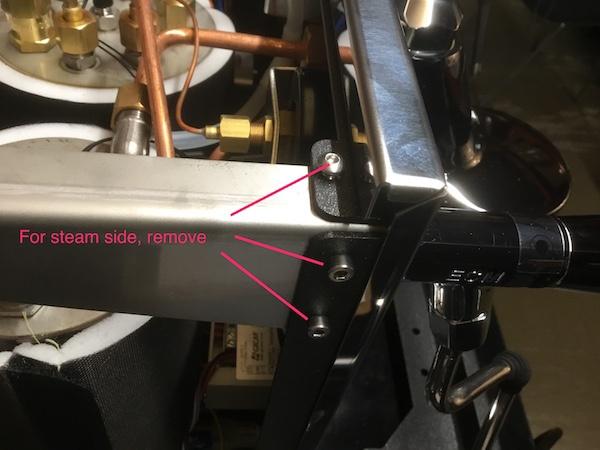 ECM Synchronika: Steam Valve Seal Inspection/Replacement