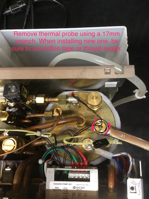 Alex Duetto: Steam Temperature Probe Replacement