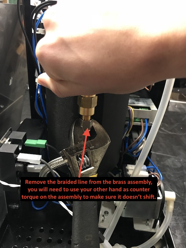 ECM Classika: Checking pump inlet and outlet flow