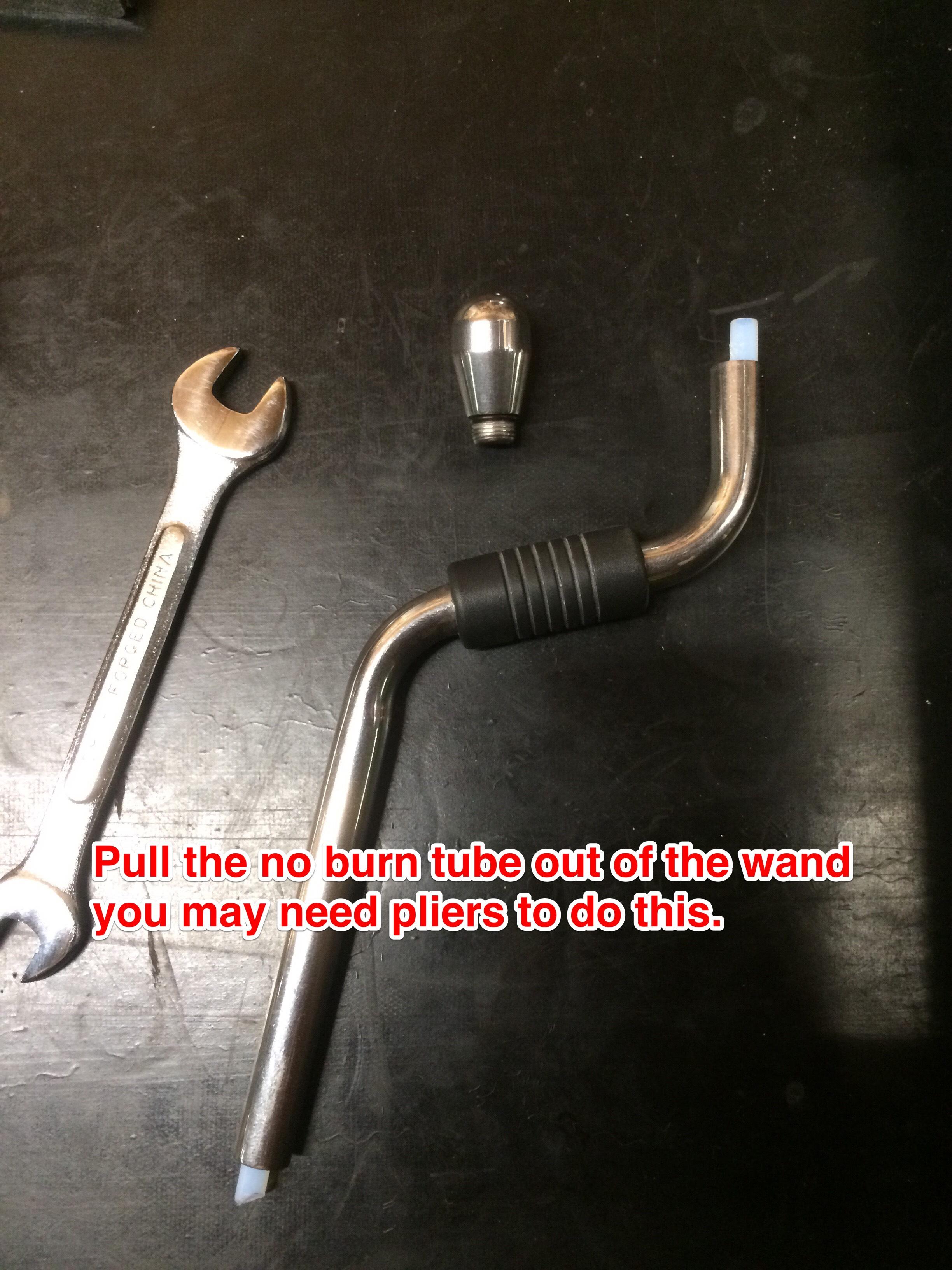 Profitec Pro 700 Steam Wand Insulation Removal