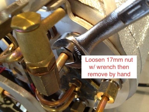La Marzocco GS3: Rebuilding the Vacuum Breaker