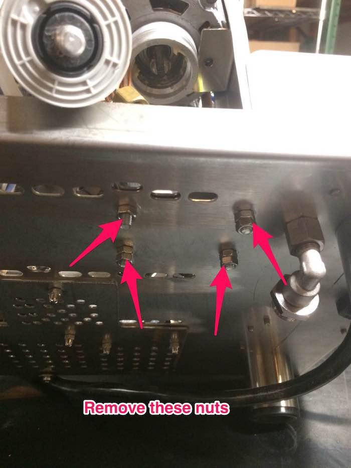 LUCCA M58: Pump Gauge Replacement