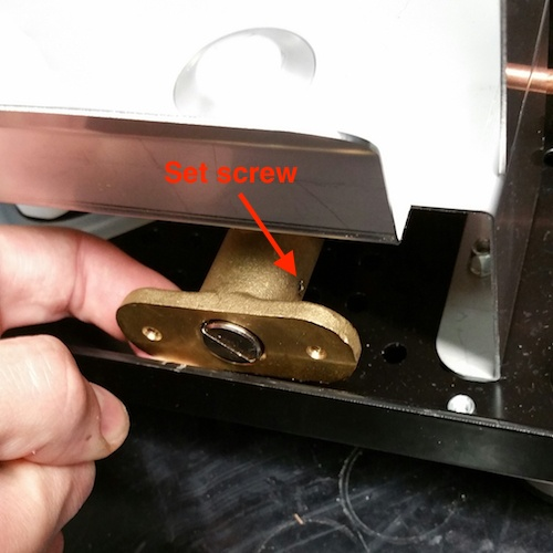 Profitec Pro 500: Replacing the Expansion Valve Seat
