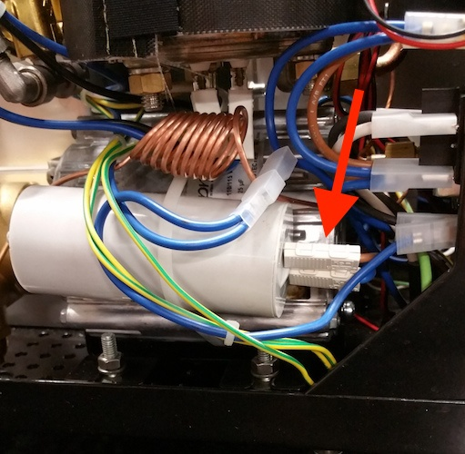 Profitec Pro 700: Replacing the Motor Capacitor