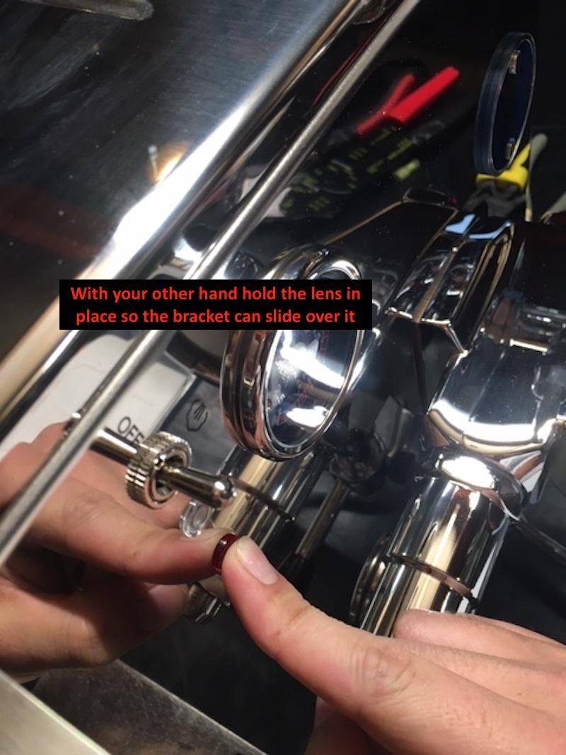 LUCCA M58: Reattaching Steam Boiler Lens