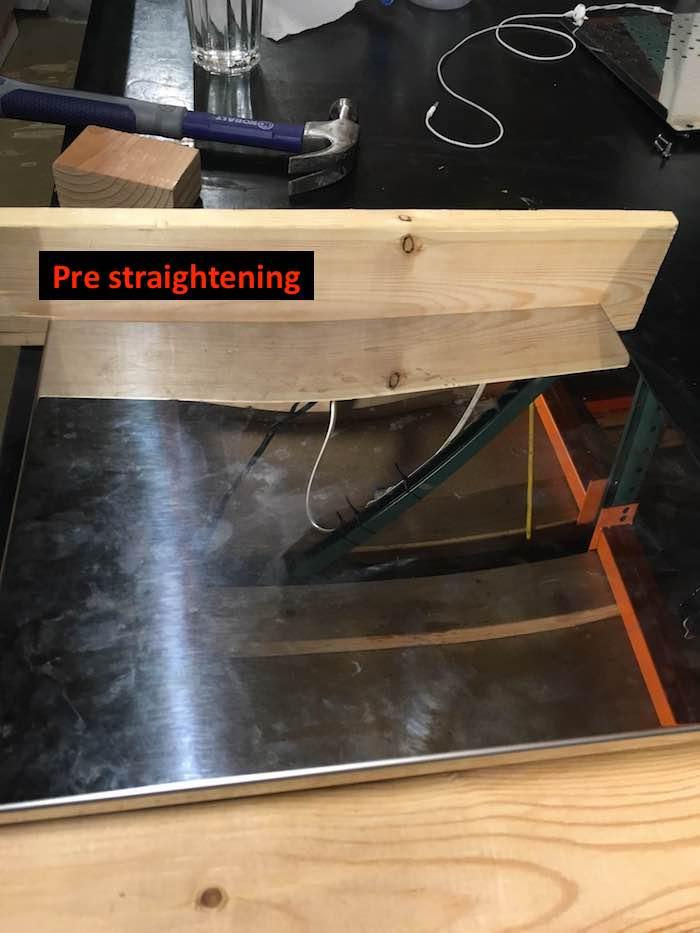 Profitec Pro 700: Bending Back Panel
