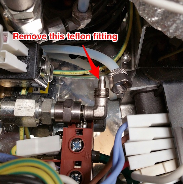 LUCCA M58: Cleaning Inlet Check Valve