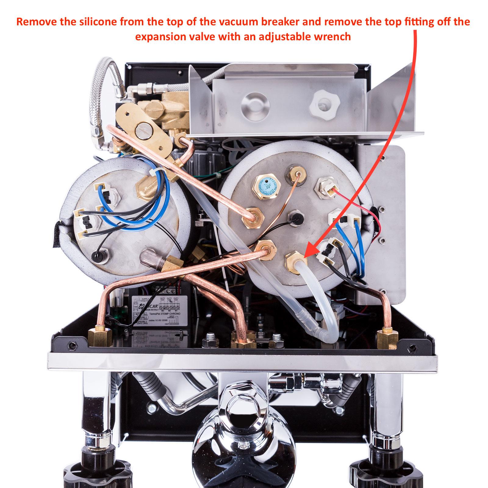 Profitec Pro 700: Vacuum Breaker Replacement